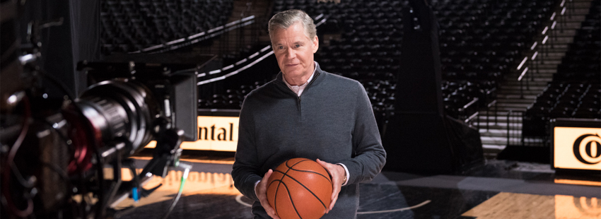 "Continental Tire and Dan Patrick Team Up for ""Ode to Basketball"""